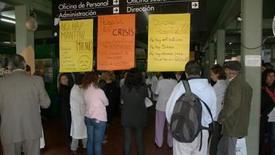 Photo of Isidro Casanova: Cese de actividades y asamblea en el Hospital  Paroissien