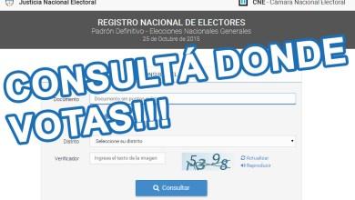 Photo of #Elecciones2015: Consultá dónde votar en las elecciones del domingo