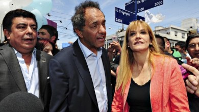 Photo of Elecciones 2015: Scioli, Espinoza y Magario recorrieron la Peatonal Arieta