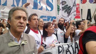 Photo of Paro docente:Pitrola marchó con CTERA y CONADUH