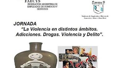 Photo of Seoca Oeste:Jornada «Violencia en distintos ámbitos. Adicciones, drogas, y delito»