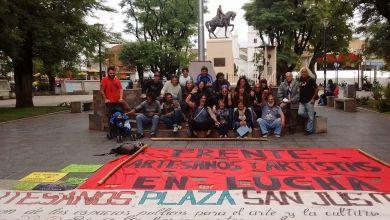 Photo of San Justo:Sigue la lucha de los artesanos para volver a la Plaza San Martín