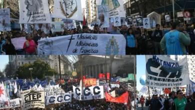 Photo of Caravana: Multitudinaria marcha de San Cayetano a Plaza de Mayo