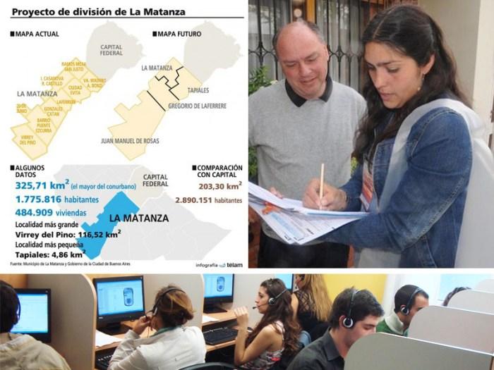 División de La Matanza: Comenzó la encuesta para que los vecinos voten y opinen