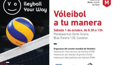 Photo of Morón: Se realizará el evento internacional Voleibol a Tu Manera