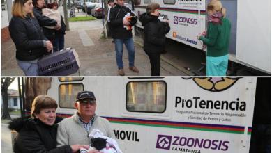 Photo of Zoonosis: Continúan los operativos de vacunación y castración animal