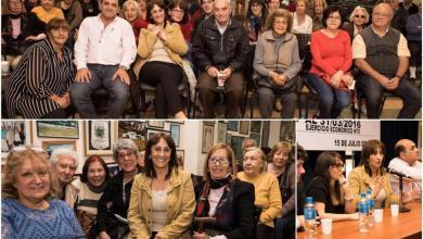 Photo of Morón: Mirta Tundis participó de un encuentro con jubilados de Comercio
