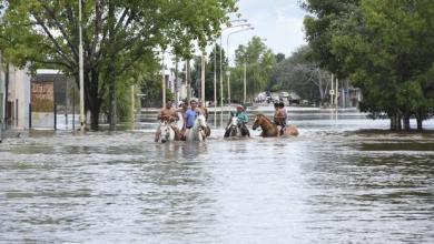 Photo of Norte bonaerense: Un muerto y más de 400 evacuados dejó el temporal del domingo