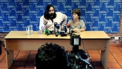 Photo of Suteba: «Expectativa de que se pueda resolver la paritaria»