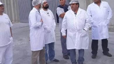 Photo of Facundo Aveiro visita a los trabajadores de Farmesa
