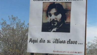 Homenaje y pedido para reabrir la causa por el crimen de Carlos Fuentealba