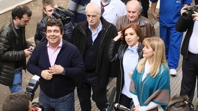 Photo of Verónica Magario y Espinoza se refirieron a la visita de CFK