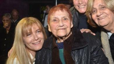 Photo of María Elena Algañaraz,El fallecimiento de la ex concejal