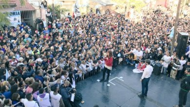 Photo of Cristina Kirchner de campaña en San  Martín
