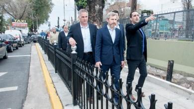 Photo of Tagliaferro y Frigerio recorrieron obras en Haedo