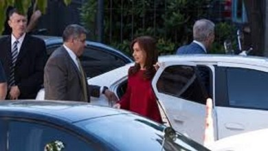 Photo of Cristina Kirchner en tribunales