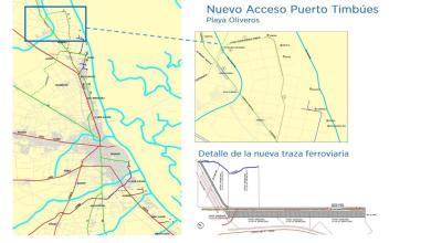 Photo of Continúa el Proyecto Ferroviario que mejorará los accesos a los Puertos del Gran Rosario