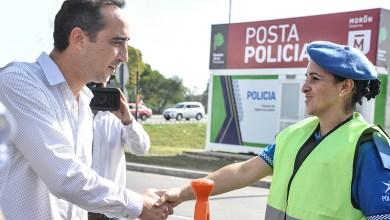 Photo of Morón: La seguridad es uno de los ejes centrales de la gestión de gobierno