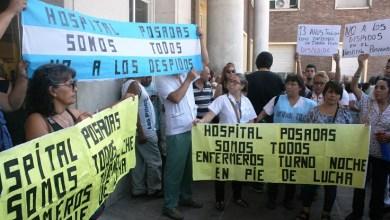 Photo of Contra el despido de 122 trabajadores, paro en el Hospital Posadas
