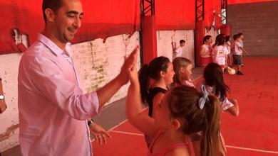 Photo of Tagliaferro consolida el apoyo a los clubes de barrio con obras que disfrutan los chicos