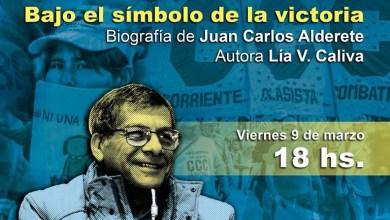 Photo of Biografía del dirigente de la CCC Juan Carlos Alderete