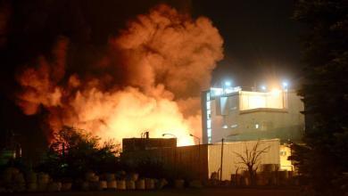 Photo of Incendio provocó la destrucción de una fábrica textil