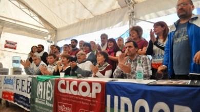 Photo of Paro y movilización de gremios docentes