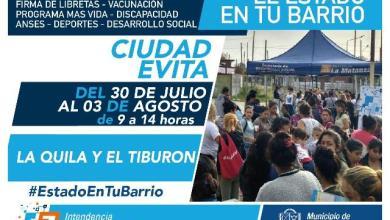 Photo of Ciudad Evita es el próximo destino del Estado en tu Barrio