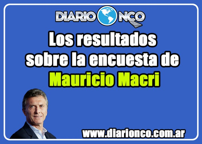 Mauricio Macri: los resultados