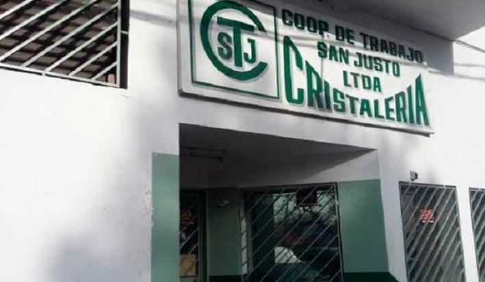 Fernando Espinoza visitó Cristalería San Justo