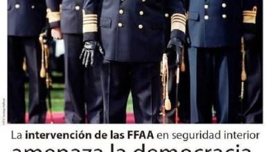 Photo of Conflictos internos: «No a la intervención de las Fuerzas Armadas»