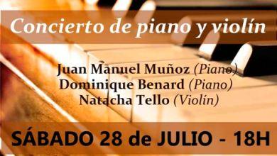 """Photo of Ciclo de música: """"Clásica al atardecer"""": concierto de piano y violín"""