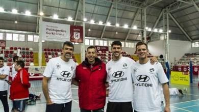 Photo of Jugadores de élite participaron del Sitting Vóley en el Gorki