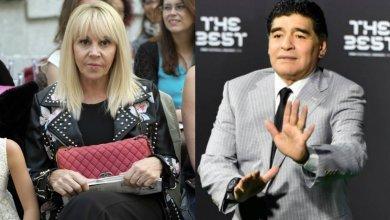 Photo of Claudia Villafañe denunció a Maradona por violencia de género
