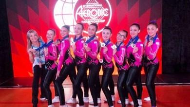 Photo of Oro y plata: Argentina se coronó campeona en un mundial de gimnasia aeróbica
