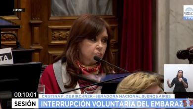 Photo of CFK: «Estamos rechazando un proyecto sin proponer nada alternativo»