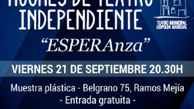 """Photo of """"Noches de Teatro Independiente"""" presenta """"ESPERAnza"""""""