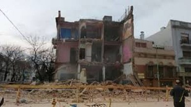 Photo of Se derrumbó una parte de una casa