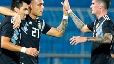 Photo of Fútbol internacional: En una prueba fácil, Argentina goleó a Irak