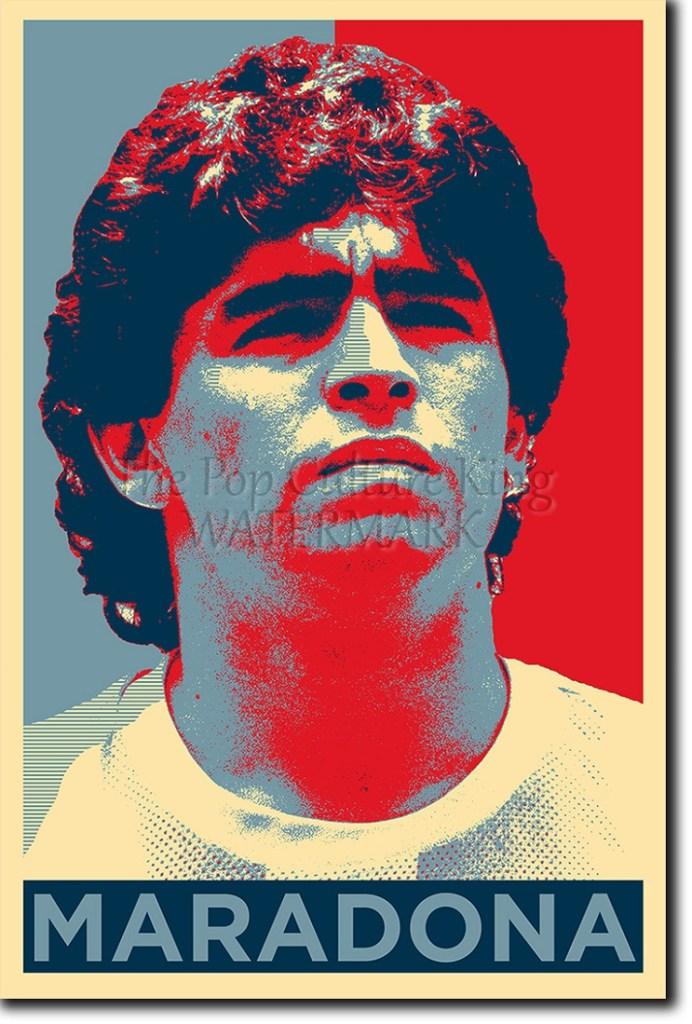Cumpleaños Maradona