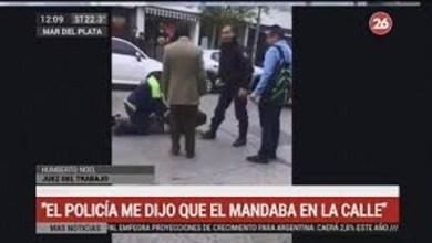 Photo of Juez involucrado en polémica con policía