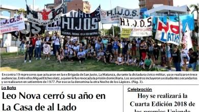 Photo of Leé la edición impresa de Diario NCO del 28-11-2018
