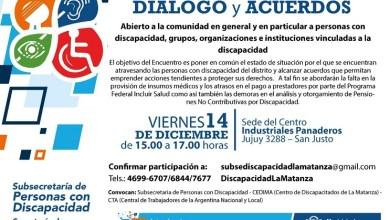 Photo of Encuentro de diálogo sobre la situación actual de Discapacidad