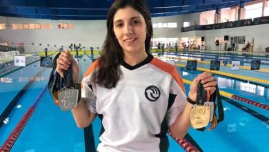 Photo of El voto de la gente definirá si una nadadora de la UNLaM es la mejor deportista universitaria del año