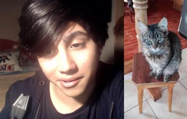 Youtuber chileno que publicó un vídeo torturando a su gato enfurece las redes