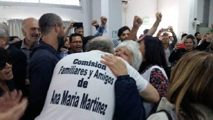 Condenaron a perpetua a los dos imputados por el crimen de Ana María Martínez
