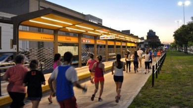 Photo of Cientos de vecinos corrieron los 5K por el Metrobús