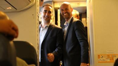 Photo of Con Tagliaferro y Dietrich, se realizó el primer vuelo internacional desde el Aeropuerto El Palomar