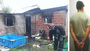 Photo of Golpeó a su ex embarazada y prendió fuego la casa con ella adentro