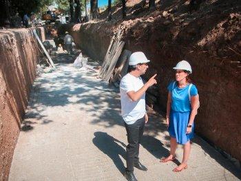 Morón: arrancó la etapa final de una obra que beneficiará a 80 mil vecinos